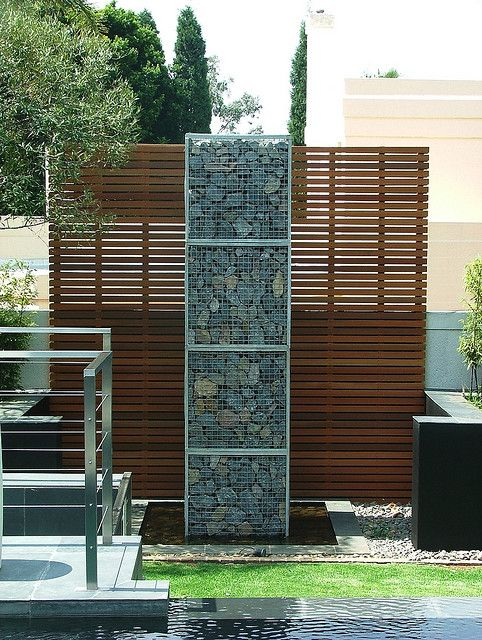 20 Amazing Gabion Ideas for Your Outdoor Area (10)