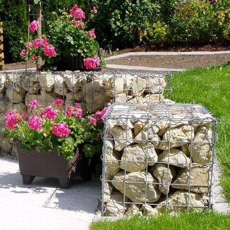 20 Amazing Gabion Ideas for Your Outdoor Area (19)