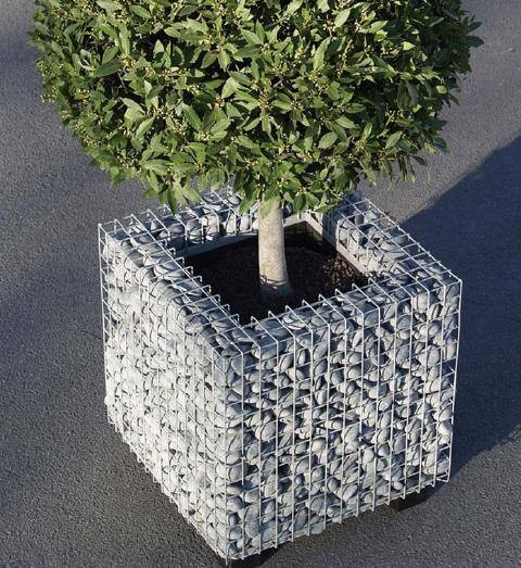 20 Amazing Gabion Ideas for Your Outdoor Area (7)