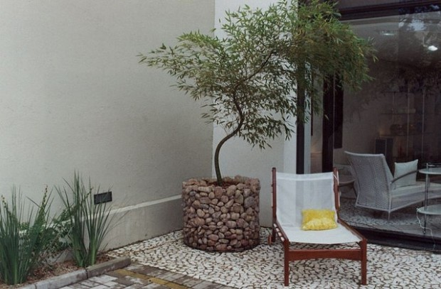 20 Amazing Gabion Ideas for Your Outdoor Area (9)