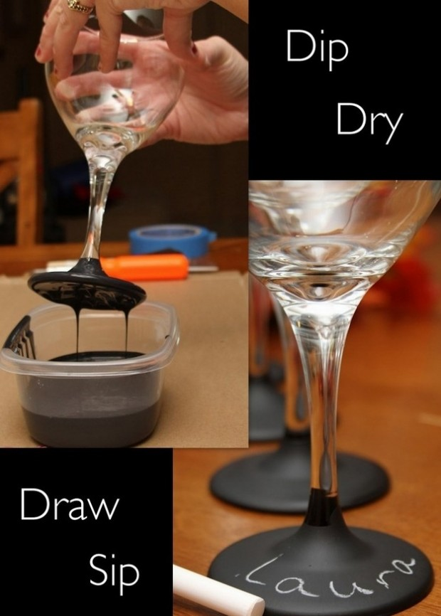20 Creative and Interesting Things You Can Do with Wine Glasses (14)