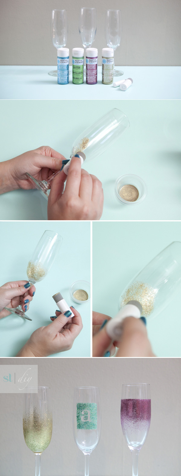 20 Creative and Interesting Things You Can Do with Wine Glasses (5)