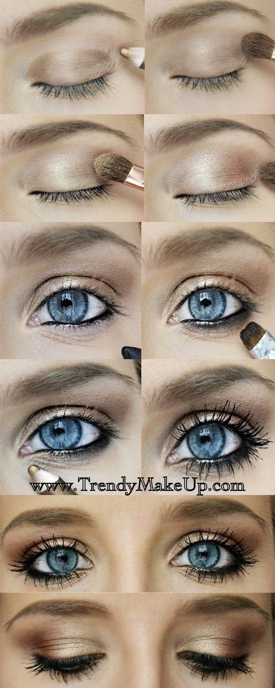 20 Gorgeous Makeup Ideas for Blue Eyes (20)
