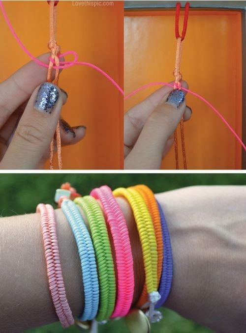 bracelet diy name en slideshow