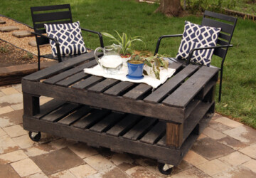 20 Great DIY Furniture Ideas with Wood Pallets - pallets, ideas, furniture, diy