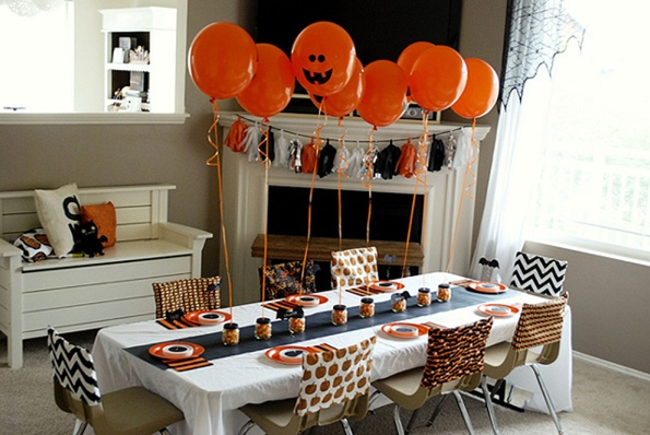 20 great halloween table decoration ideas style motivation - Decoration de table halloween ...