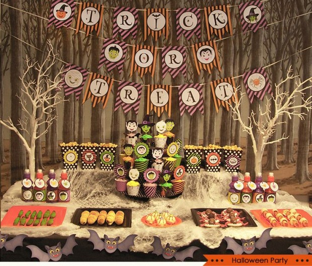 20 Great Halloween Table Decoration Ideas (18)