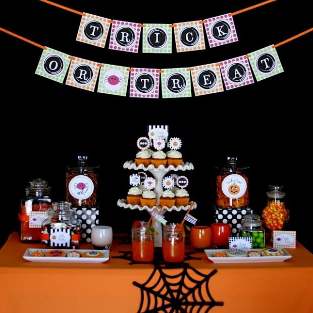 20 Great Halloween Table Decoration Ideas (9)