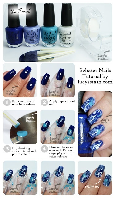 20 Tutorials for Stylish Nails (10)