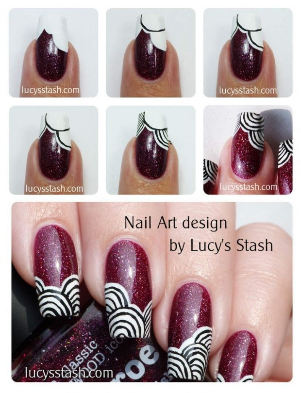 20 Tutorials for Stylish Nails (12)