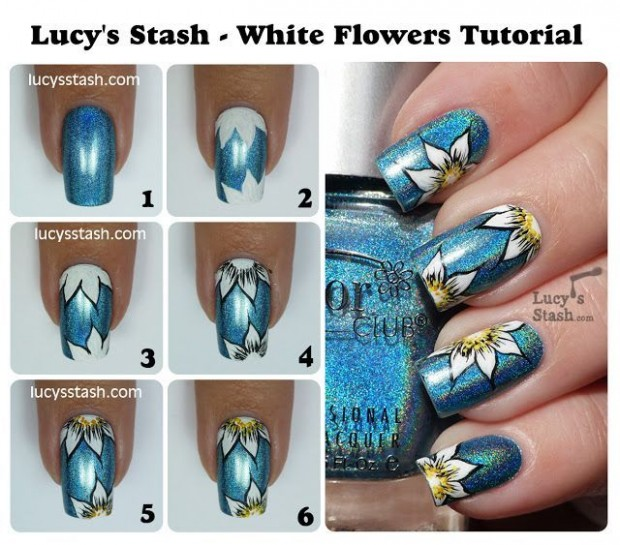 20 Tutorials for Stylish Nails (20)