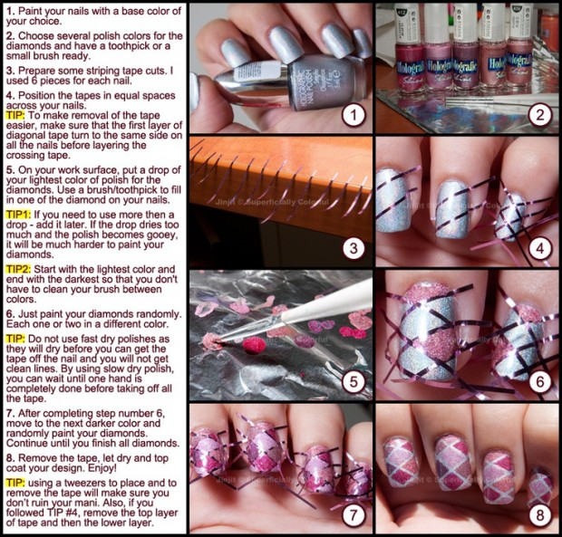 20 Tutorials for Stylish Nails (21)