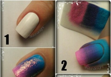 20 Tutorials for Stylish Nails - tutorials, nails, Nail Art