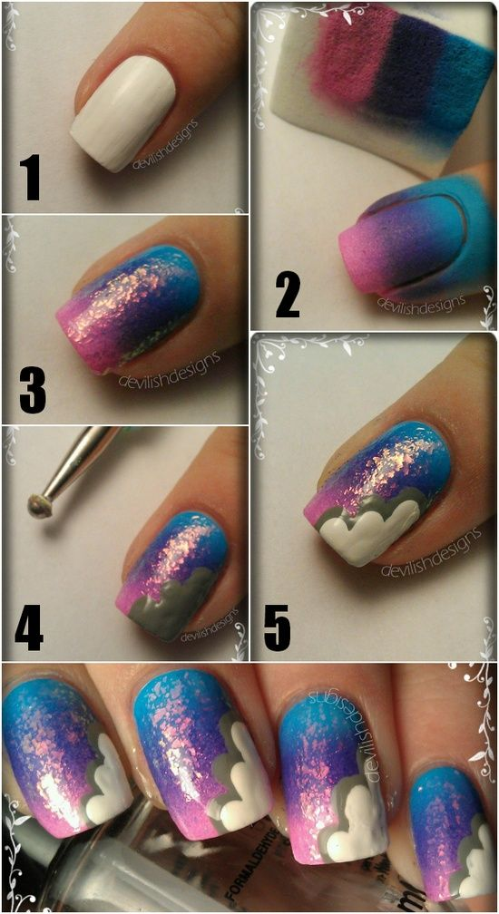 20 Tutorials for Stylish Nails (3)