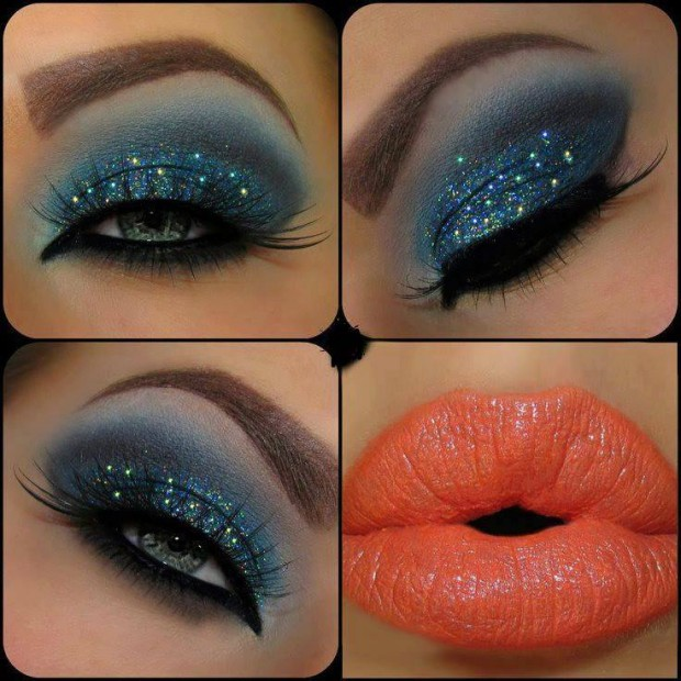 21 Glamorous Look Makeup Ideas (21)