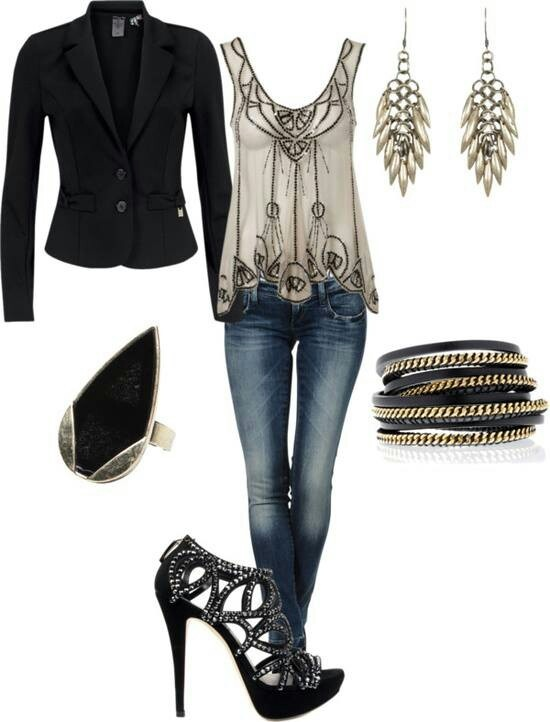 22 Amazing Jeans Outfit Ideas (1)