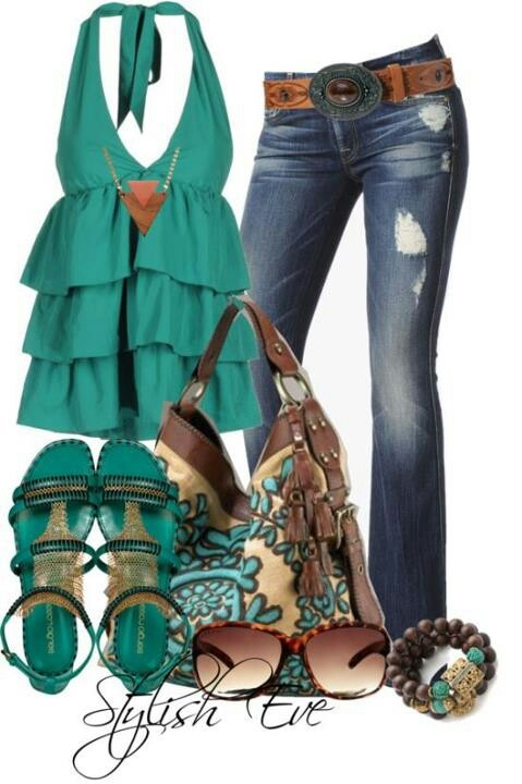 22 Amazing Jeans Outfit Ideas (10)