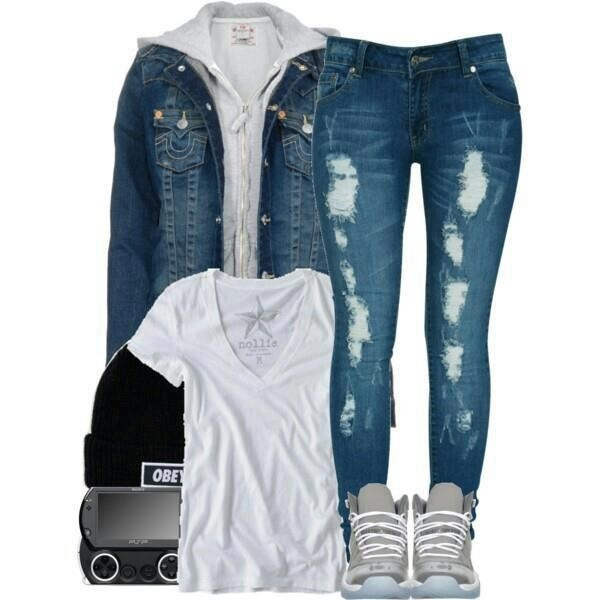 22 Amazing Jeans Outfit Ideas (12)