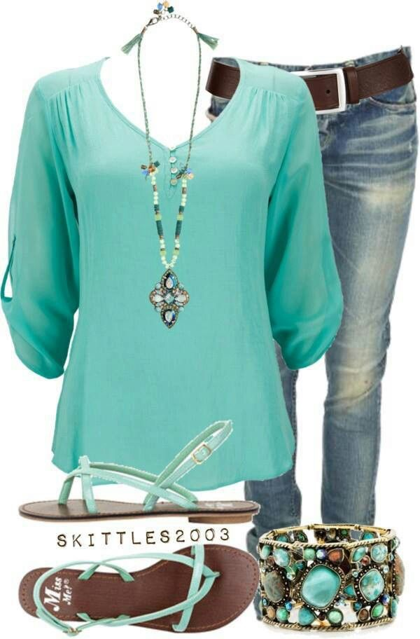 22 Amazing Jeans Outfit Ideas (15)