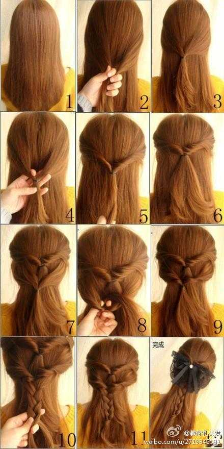 22 Simple and cute hairstyle tutorials you should definitely try it (1)