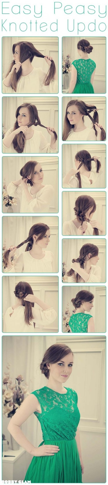 22 Simple and cute hairstyle tutorials you should definitely try it (11)