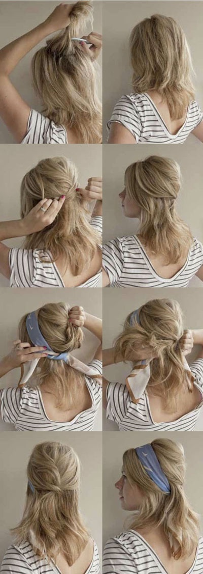 22 Simple and cute hairstyle tutorials you should definitely try it (14)