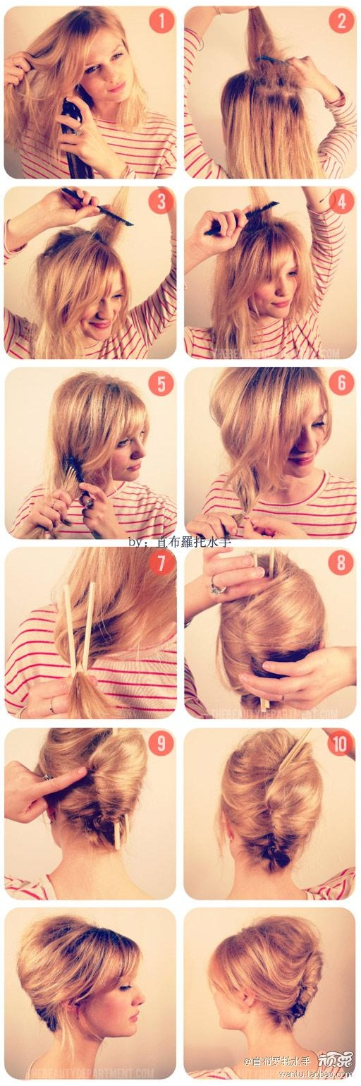 22 Simple and cute hairstyle tutorials you should definitely try it (16)