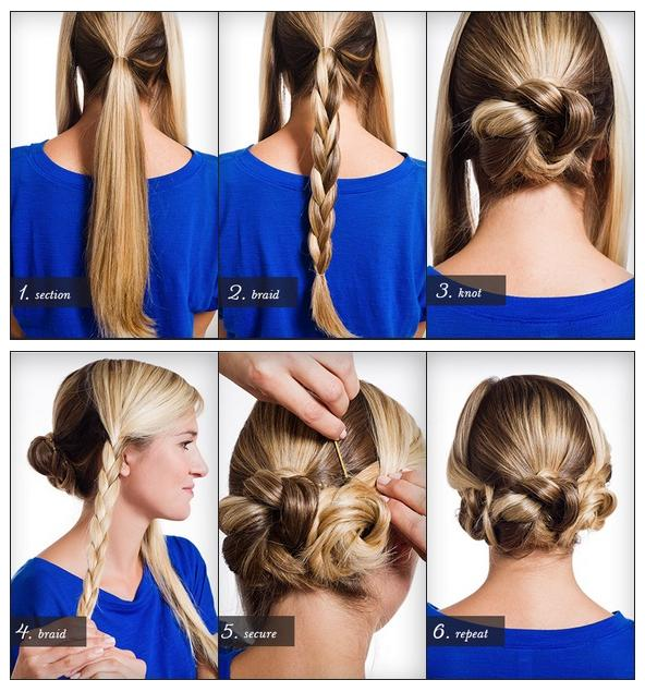 22 Simple and cute hairstyle tutorials you should definitely try it (2)