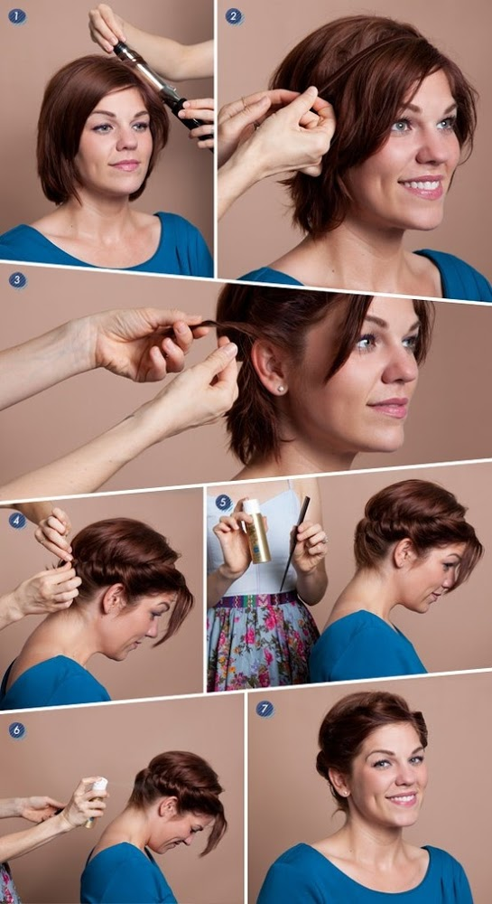 22 Simple and cute hairstyle tutorials you should definitely try it (20)