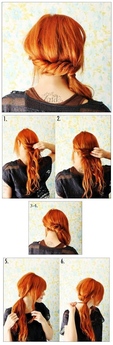 22 Simple and cute hairstyle tutorials you should definitely try it (3)