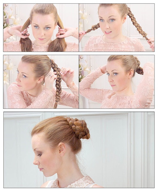 22 Simple and cute hairstyle tutorials you should definitely try it (6)