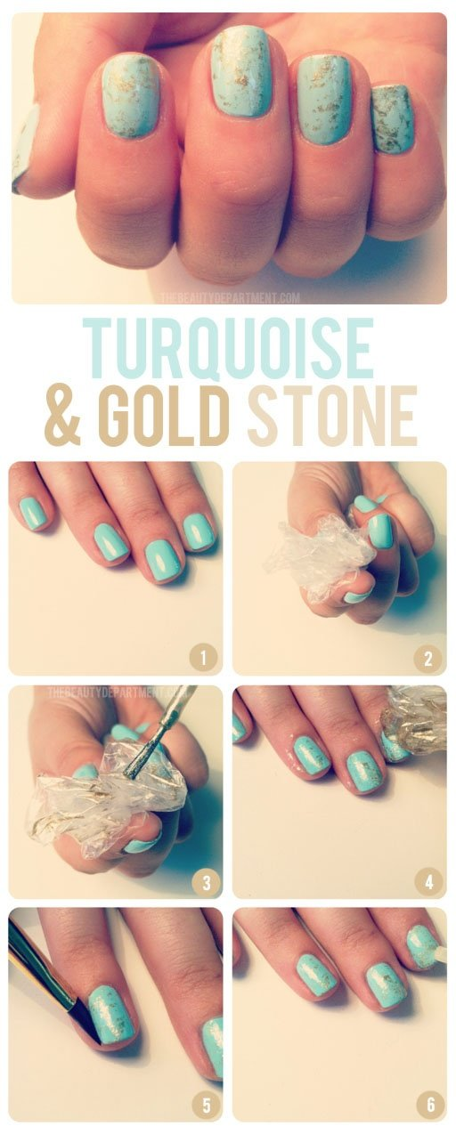 25 fun and easy nail art tutorials style motivation 25 fun and easy nail art tutorials prinsesfo Gallery