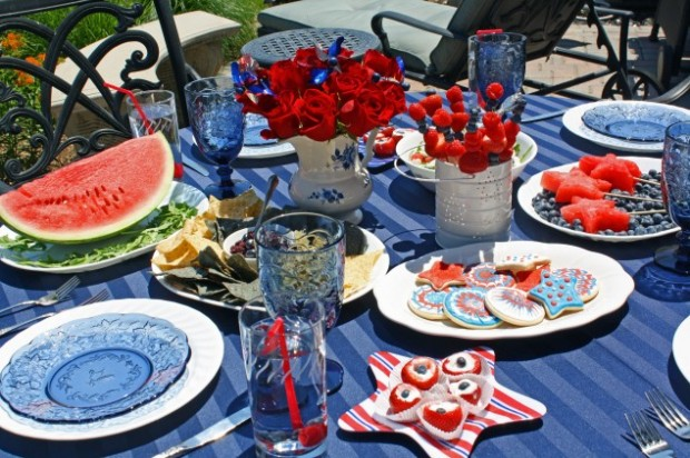 23 Amazing Labor Day Party Decoration Ideas (8)