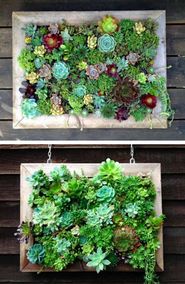 22 amazing vertical garden ideas for your small yard for Vertical garden designs