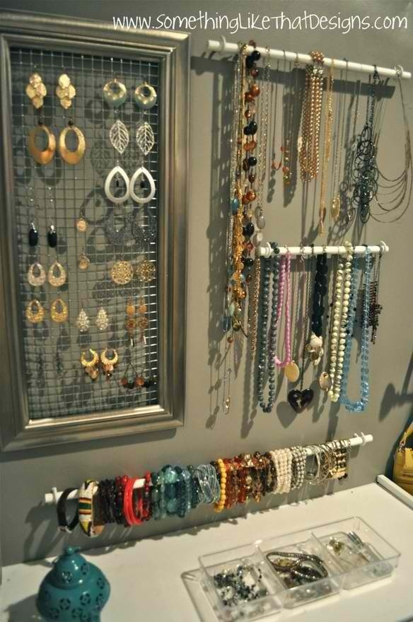 23 Creative Jewelry Organization Ideas (20)