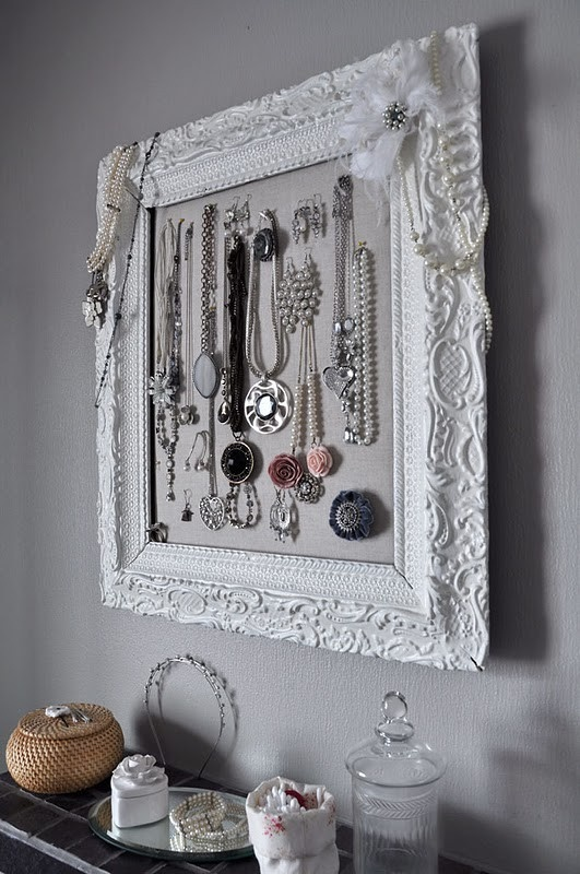 23 Creative Jewelry Organization Ideas (4)