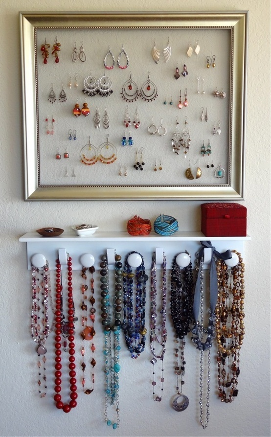 23 Creative Jewelry Organization Ideas (5)