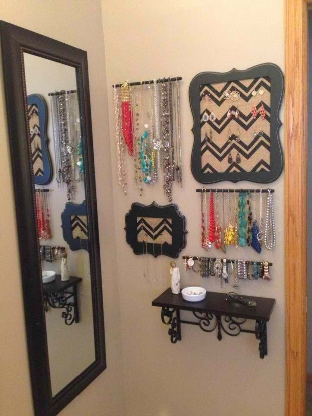 23 Creative Jewelry Organization Ideas (6)