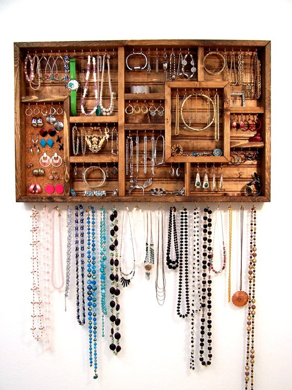 23 creative jewelry organization ideas style motivation - Ideas for storing jewellery ...