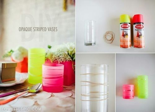 23 cute and simple diy home crafts tutorials - Home Decor Craft Ideas