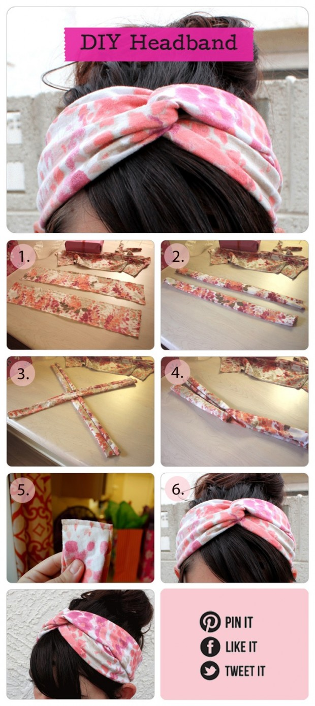 24 popular diy fashion projects style motivation Diy fashion of hairstyle