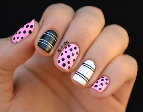 Nail Art Ideas: 24 Trendy Nail Art Ideas