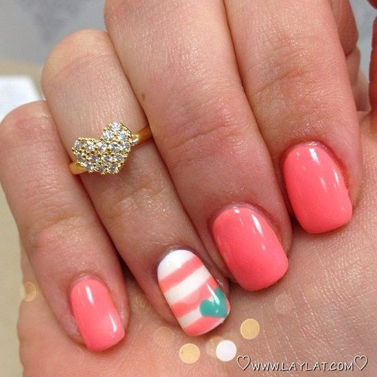Adorable Nail Art: 24 Trendy Nail Art Ideas