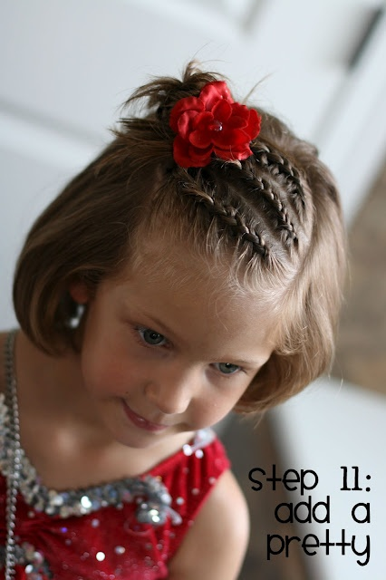Fabulous 25 Creative Hairstyle Ideas For Little Girls Style Motivation Hairstyles For Women Draintrainus