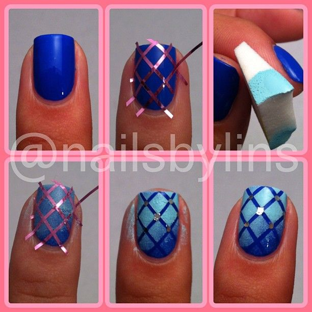 25 Fun and Easy Nail Art Tutorials - Style Motivation