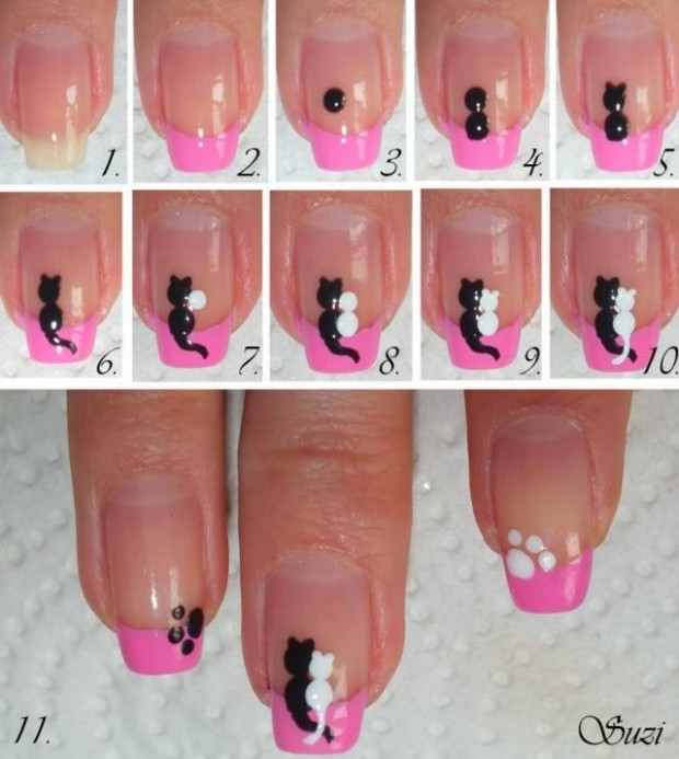 25 Fun And Easy Nail Art Tutorials Style Motivation - Nail Art Easy - Best Nails 2018