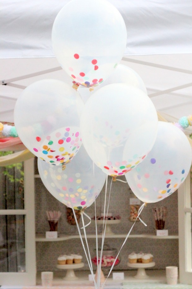 24 great diy party decorations style motivation for Balloon decoration ideas diy