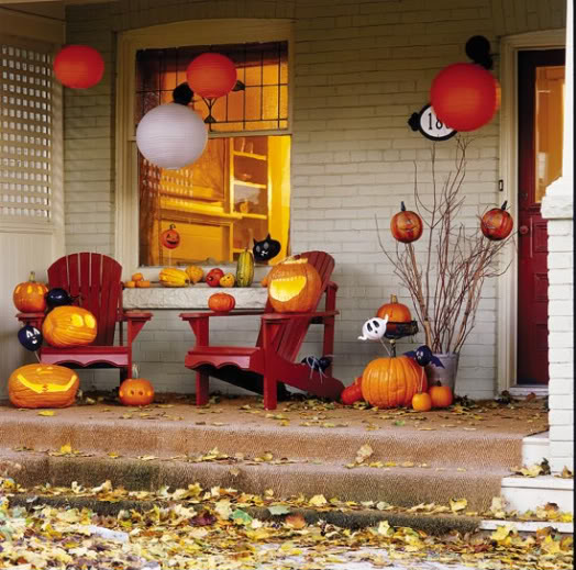 25 Great Porch Design Ideas: 25 Great Fall Porch Decoration Ideas