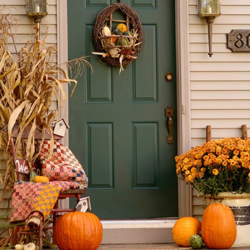 Good 25 Great Fall Porch Decoration Ideas