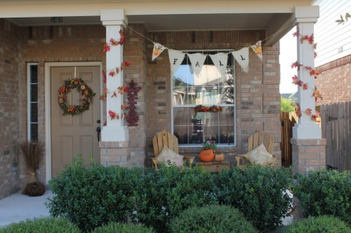25 Great Fall Porch Decoration Ideas